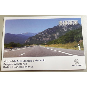 Manual Da Garantia Peugeot Original 2016 E 2017