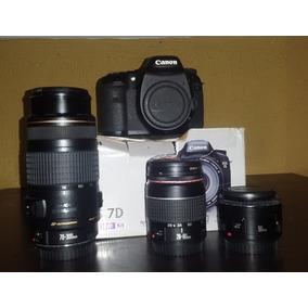Canon 7d Full Equipada