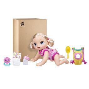 Boneca Baby Alive Loira Hora Do Passeio Com Acessórios