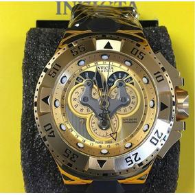 fc4e0dd9f3f Relógio Invicta Excursion 18557 Preto Dourado Masculino - Relógios ...