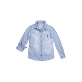 Camisa Bebê Menino Em Fio Tinto Xadrez Hering Kids - Kvgu · Camisa Jeans  Infantil Menino Masculina Manga Longa Fashion 21bc065044e