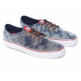 Dc Shoes Tenis Trase De Mezclilla Quiksilver