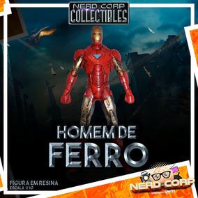 Estátua Em Resina Iron Man