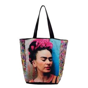 Bolsa Frida Kahlo Tecido Ecobag Promoção
