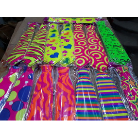 25 Corbatas Plastico Colores Neon Fiesta Mayoreo Batucada c8c2c2bfc1e