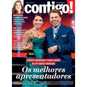 Revista Contigo 2169/17 - Silvio Santos/wanderléa/sandy/luan