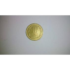 Moeda 10 Pesos Chile 2003