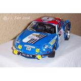 Renault Alpine A110 Burago Escala 1/16