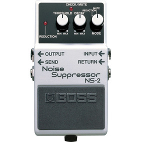 Pedal De Guitarra Contrabaixo Boss Ns-2 Noise Suppressor