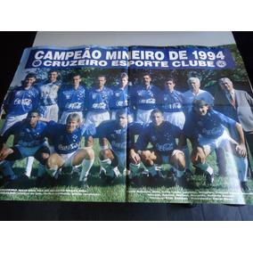Poster Do Cruzeiro Campeão Mineiro 1994