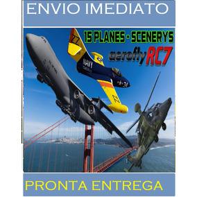 Aero Fly Rc7 Simulador De Avião E Drone - Envio Rapido