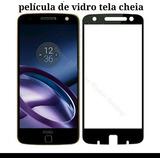 Película De Vidro Prêmio Tela Cheia Moto Z Cobre Toda A Tela