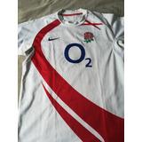 Camiseta Original De La Seleccion De Rugby De Inglaterra - Deportes ... c0d9d5d4eb75f