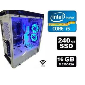 Pc Cpu Gamer Core I5 3.6ghz 16gb Rx580 Ssd 240gb Wifi F700w