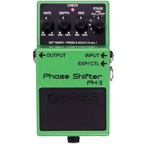 Pedal Para Guitarra E Baixo Phase Shifter Ph-3 - Boss