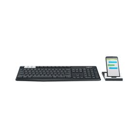 Teclado Logitech Wireless Multi Device K375s - Logitech