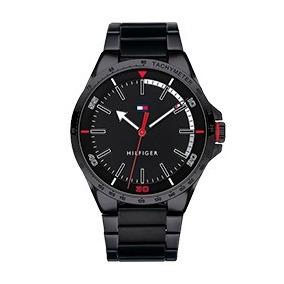 Relógio Tommy Hilfiger Masculino Aço Preto - 1791525