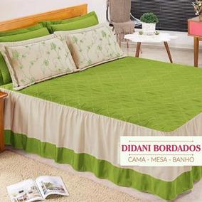 3d3fda0d63 Colcha Casal Verde Barata - Roupa de Cama no Mercado Livre Brasil