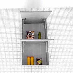 Armário Cozinha Despenseiro 2 Portas Basculantes, Mdf 18mm