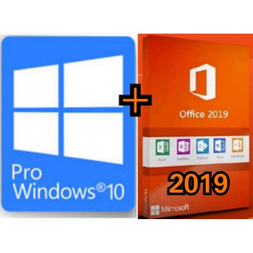 Windows 10 Pro Office 2019 Chave Licença Envio Email C/ Nf-e