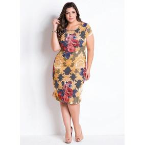 Vestido Evangelico Tubinho Roupas Plus Size Moda Evangelica