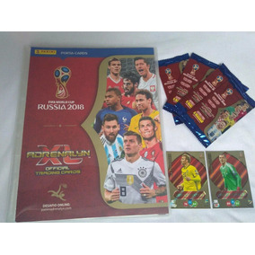 Base 360 + 40 Fans Pasta Copa 2018 Cards Adrenalyn Panini