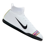 Chuteira Nike Infantil Mercurial Superfly Cr7 Bco Aj3087109