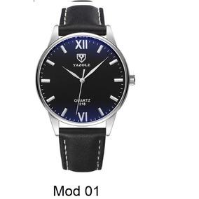 Reloj Elegante Hombre Acero Black Tornasol Envio Gratis