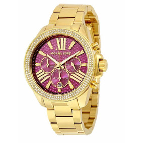 fe3e613761e27 Relógio Michael Kors 6290 - Relógios De Pulso no Mercado Livre Brasil