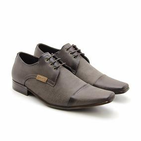 Sapato Casual Masculino Jeans Cadarço Lifestyle Perlatto Dhl