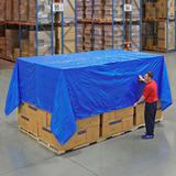 Lona Azul Estandar De 4.87 Mt X 6.09 Mt