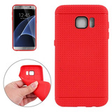 Para Galaxy S7 G930 Honeycomb Surface Tpu Protective Case