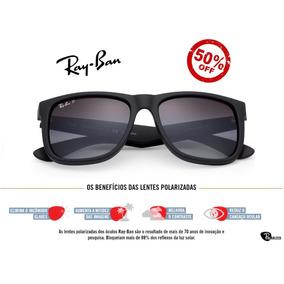 culos Ray Ban Rb13103 Preto E Laranja Com Lente Degrade - Óculos no ... d44361fe82