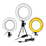 Kit Iluminador Led Circular Ring Light - 3500k A 5500k