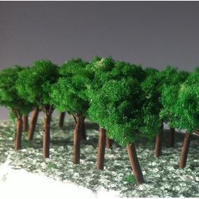 Árvore 10un (aprox. 3,5 - 4cm) Ho N 1:87 1:100