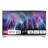Smart Led Tv 50 Sharp Sh5016mfix Fhd Tda Hdmi Usb Tio Musa