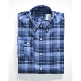 Camisa Social Polo Ralph Lauren Tamanho Ggg / Xxl Slim Fit