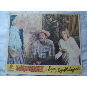 Cartaz Do Filme Mazzaropi Em O Jeca E A Égua Milagrosa