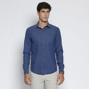 Camisa Vide Bula Classic Pied De Poule. - Azul   Vermelha 1e439ee24a916