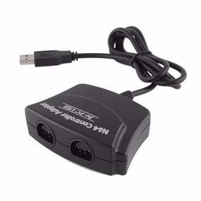 Adaptador Usb P/ 2 Controle N64 Nintendo 64 P/ Pc Dual N64 -