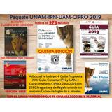 Guia Conamat 5ta Ed. Universidad Unam E Ipn + Paquete 2019