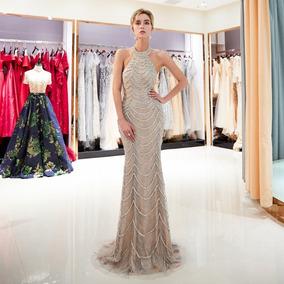 Vestido De Noche E-1211005 Envio Gratis Luce Escultural!