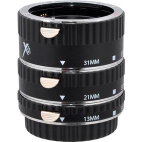 Kit Tubo De Extensão Automático Para Macrofotografia Canon