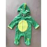 Enterito Pijama Animales Para Bebe Niño Disfraz Dinosaurio