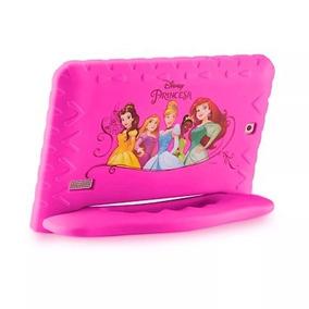 Tablet Multilaser Princess Disney Com+capa Rosa Meninas