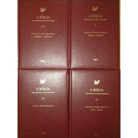 Livros Religiosos Da Editora Folio + Bíblia (4 Volumes)