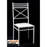 100 Cadeira 20x20 De Ferro Empilhavel Para Buffet