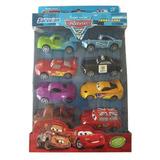 Caja Autitos De Cars 8 Autos Diferentes Rayo Mcquen Ar Nuevo
