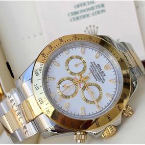 0385b889962 Relogio Rolexes Daytona Dourado - Relógio Rolex no Mercado Livre Brasil