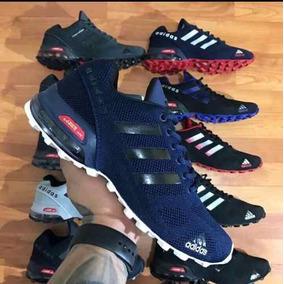 Tenis Zapatillas adidas Cosmic Air Max Azul Blanca Hombre